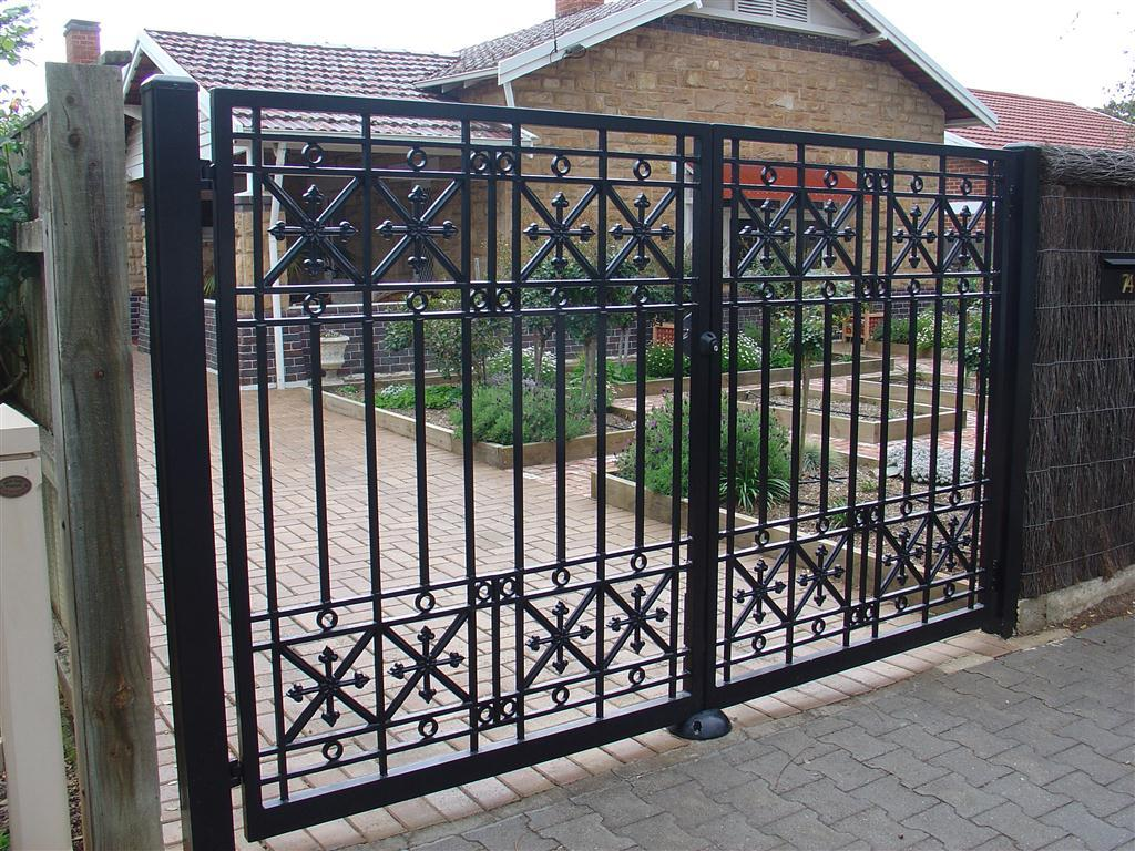 Wrought Iron Gates Inspiration Hindmarsh Fencing