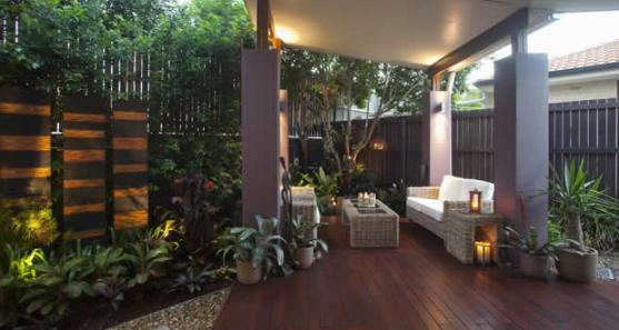 Patio design ideas get inspired by photos of patios from for Back garden designs australia
