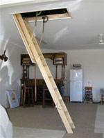 Timber Disappearing Ceiling Ladder