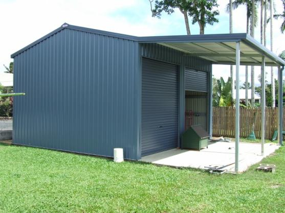 Shed Designs by Aus-Steel Far North