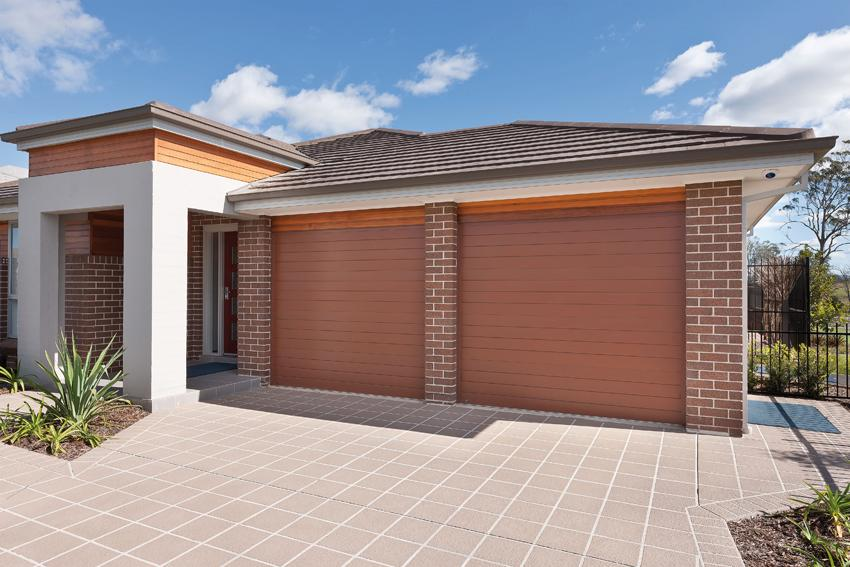 how to build a single brick garage