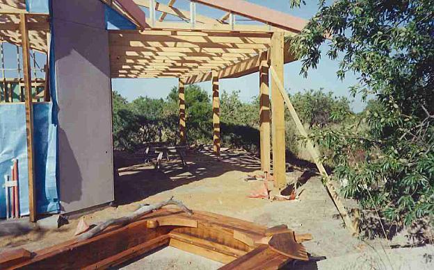 New classroom at Waldorf School, Willunga