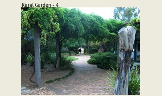 Outdoor inspiration gardens rural garden tig crowley for Australian country garden design