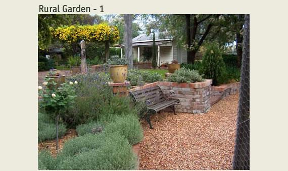 Rural garden galleries tig crowley designs for Design landscapes australia