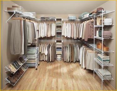 Walk in robes galleries millennium shelving pty ltd for Walk in robe designs