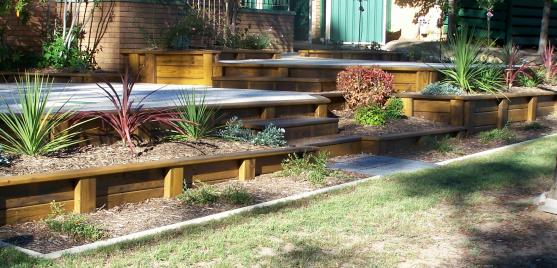 Garden Design Ideas by Apex Retaining Walls