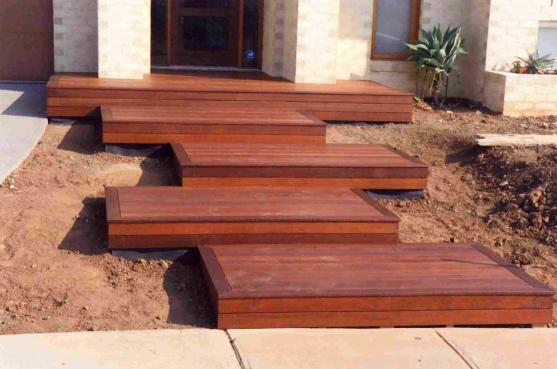 Timber deck design ideas get inspired by photos of for Timber deck construction