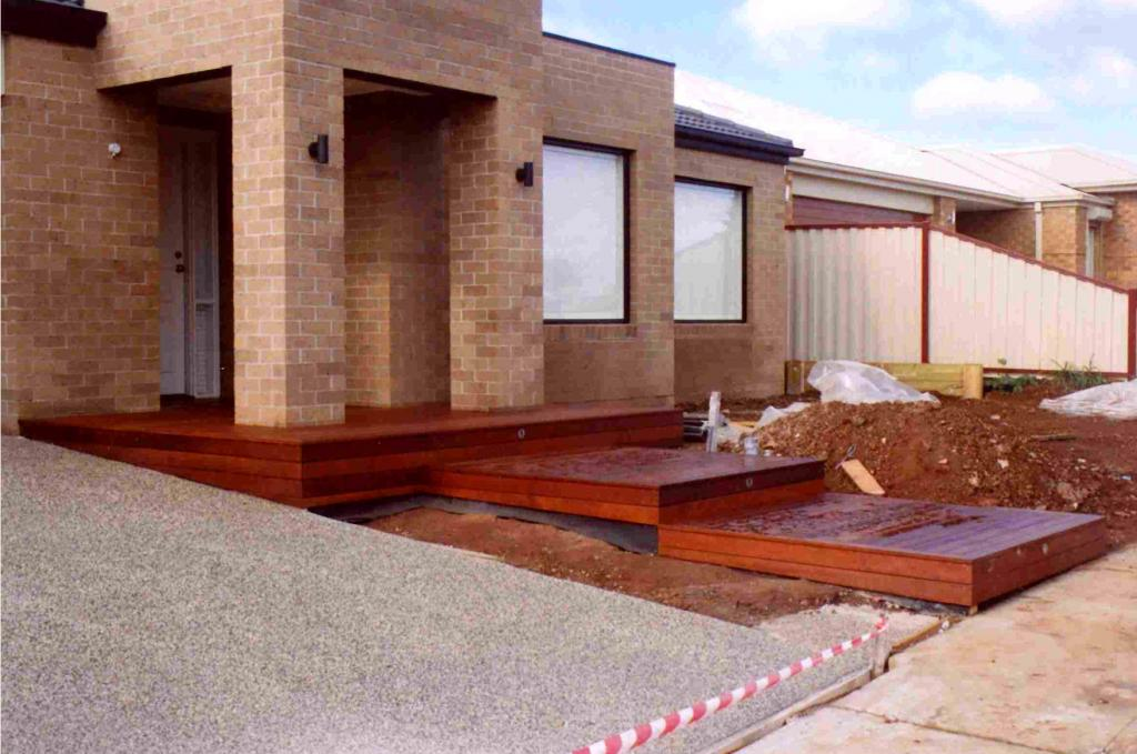 Style ideas timber decks entrance decks features in for External timber decking