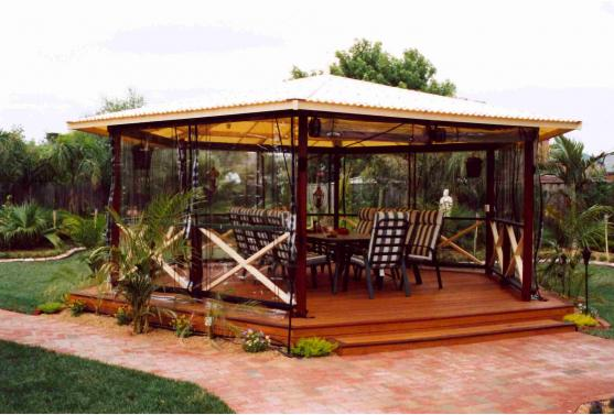Pergola Ideas by Features In Timber