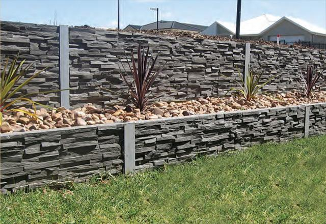 Outback Sleepers Retaining Walls Concrete Sleepers And