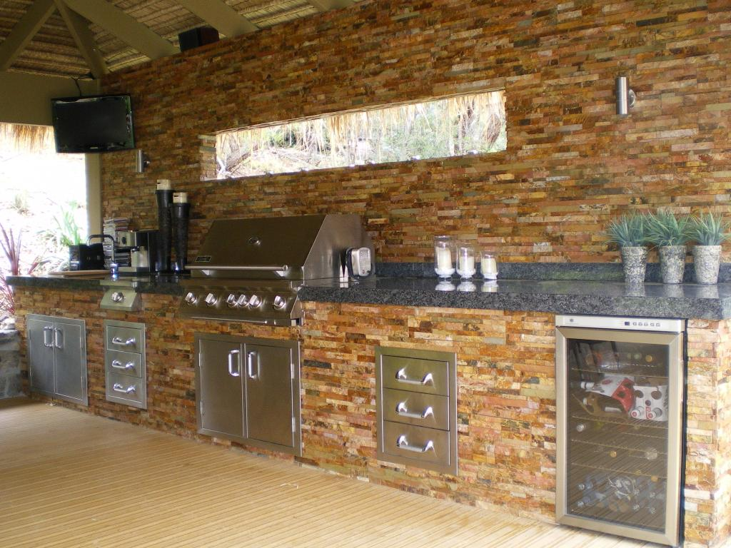 Outdoor kitchens inspiration the kitchen designer for Outdoor kitchen australia