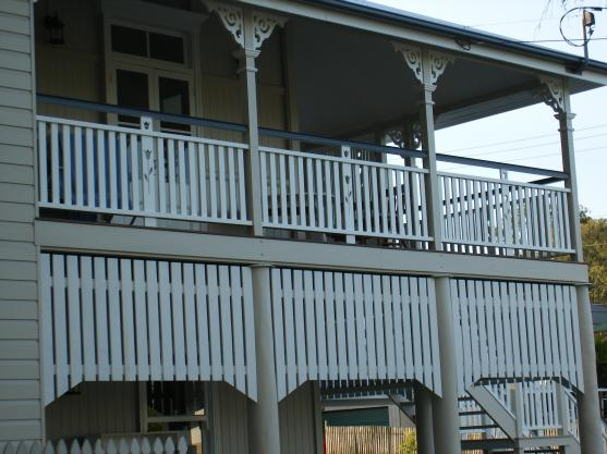 Balustrade Designs by Cornerstone Builders Pty Ltd