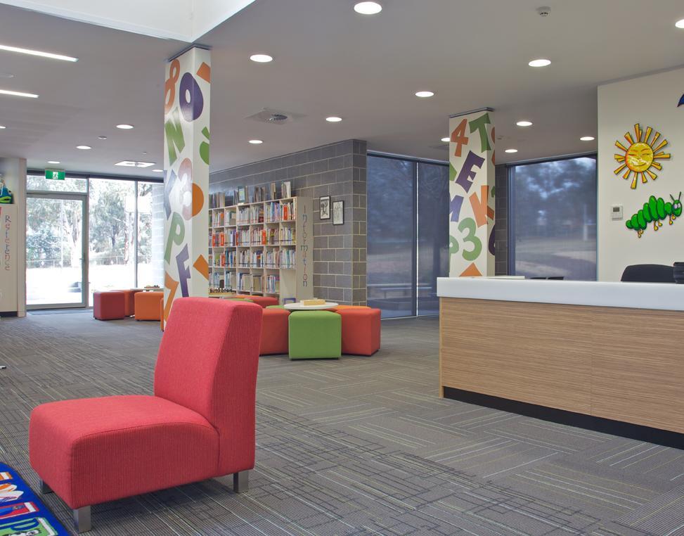 Commercial and schools galleries irene lewis interior design - Home interior design school ...