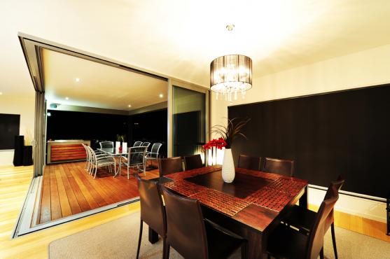 Dining Room Ideas by Malcolm's Property Developments Pty Ltd trading as Design Studio 22 Qld