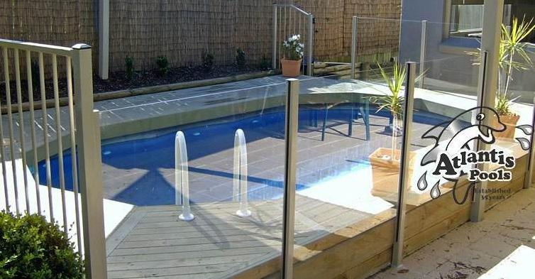 Atlantis pools resin saltwater above ground pools - Above ground resin swimming pools ...
