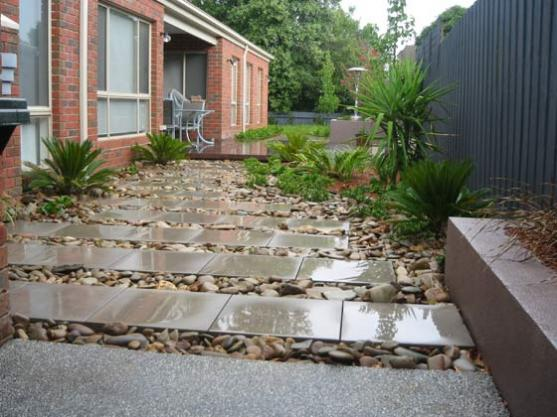 Get inspired by photos of paving from australian designers for Paving and landscaping adelaide