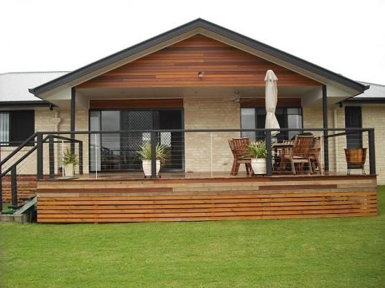 House Exterior Design by Chris Hall Builders