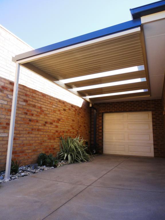 Carports inspiration for life patios australia for Attached carport ideas
