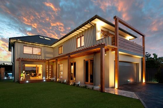 House Exterior Design by Intuitive Colour and Design