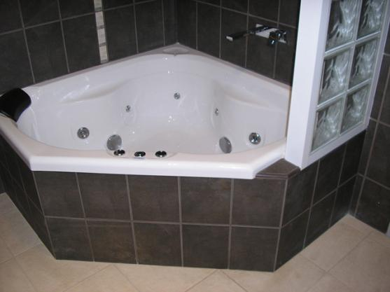 Corner Bath Ideas by Bourjon Pty Ltd