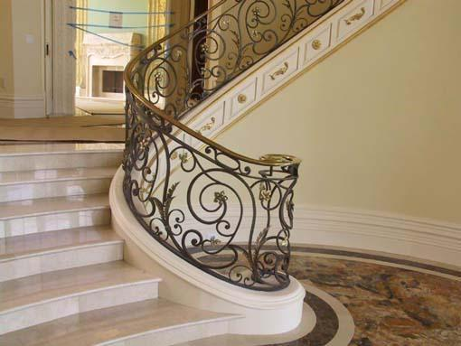 Stair Designs by Elegance in Iron
