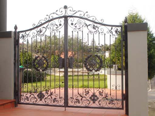 Wrought Iron Gates by Elegance in Iron