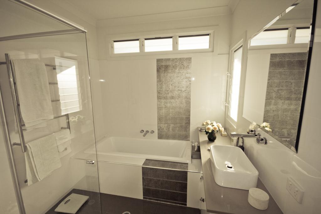 How much does bathroom renovation cost - Salle de bain moderne petit espace ...