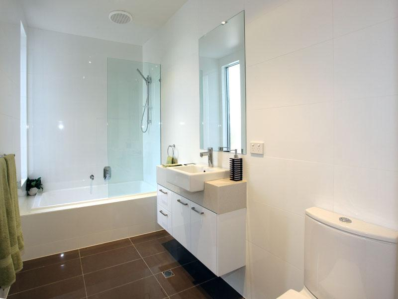 Bathrooms inspiration gia bathroom renovations for Australian small bathroom design