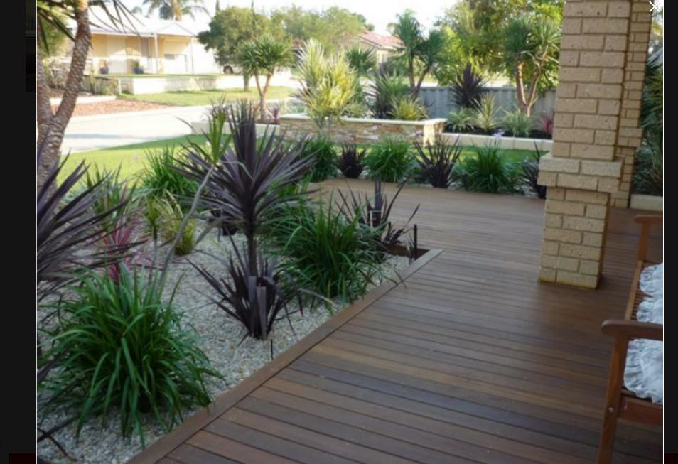 Modern landscape garden ideas images for Modern landscaping ideas for front yard