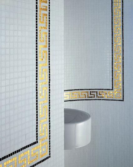 Art deco tile style
