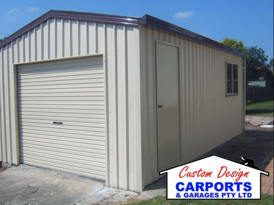 Shed Designs by Custom Design Carports & Garages Pty Ltd