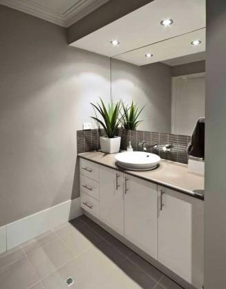 Bathroom Vanity Ideas by Colour Solutions by Lynn