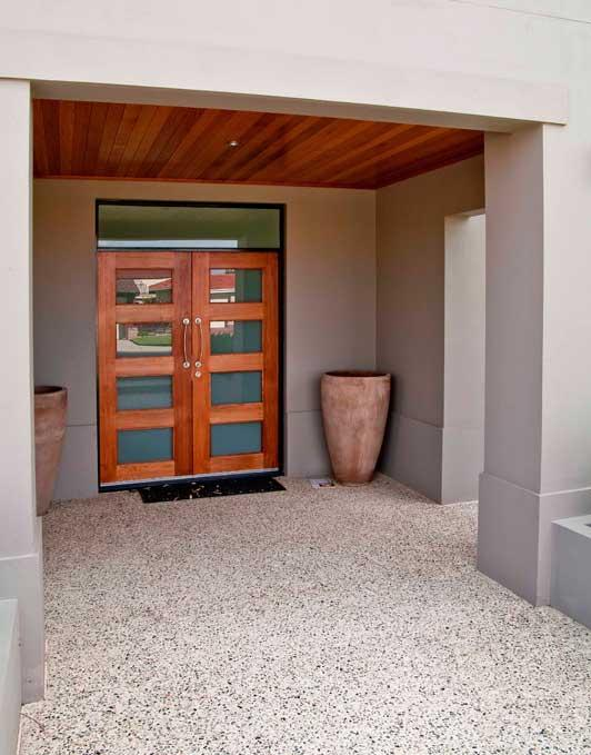 Entrance Designs by Colour Solutions by Lynn