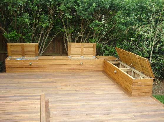 Timber deck design ideas get inspired by photos of for Garden decking designs pictures