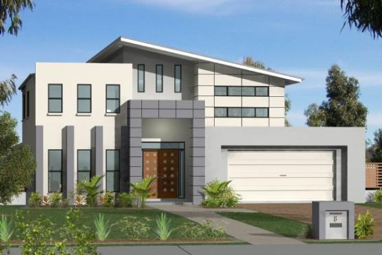 House Exterior Design by G.J. Gardner Homes - Riverlands