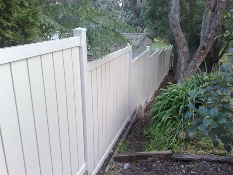 Fences Inspiration Mathos Pvc Fencing Australia