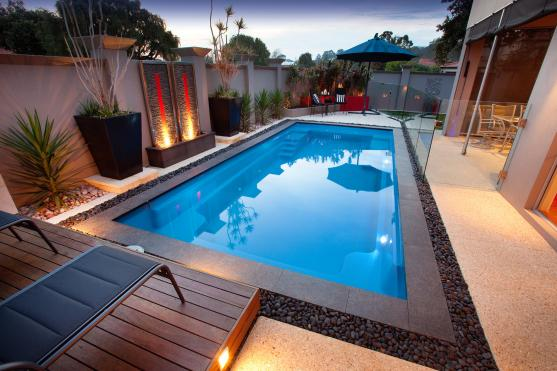 Pool design ideas get inspired by photos of pools from australian designers trade - House with swimming pool design ...