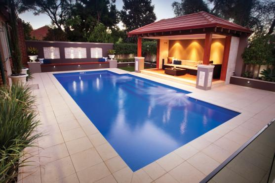 Pool design ideas get inspired by photos of pools from for How to design a pool