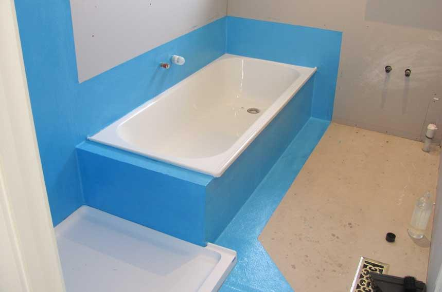Here We See Some Of The Australian Requirements For Waterproofing A Tub And Showeru0027s  Backer Board. The Australian Code Are Much Better Than The Ones In ...