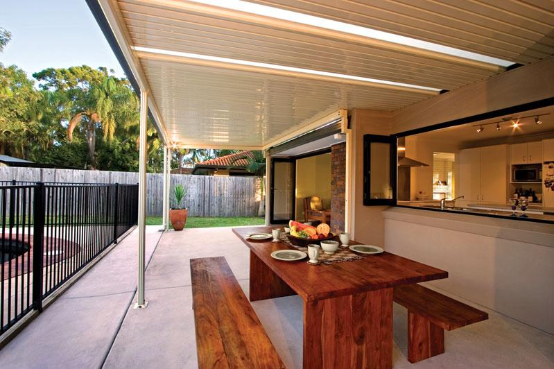 Ordinaire On The Low End Of The Scale, You Can Buy A Patio Awning For Around $150. If  You Want A Full Patio Cover, A Colorbond Kit Can Cost Only Around $1000 To  ...