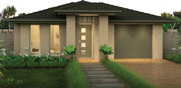 front of the house exteriors single storey home