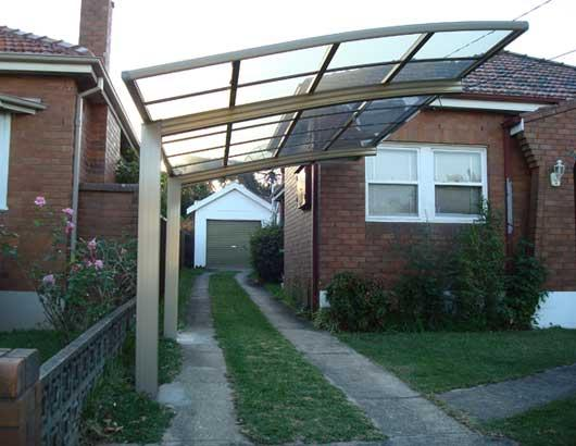 aluminium carport design ideas get inspired by photos of aluminium carports from australian. Black Bedroom Furniture Sets. Home Design Ideas