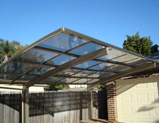 aluminium carport design ideas get inspired by photos of. Black Bedroom Furniture Sets. Home Design Ideas