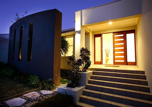 Entrance Designs by Builtex Design & Construction P/L