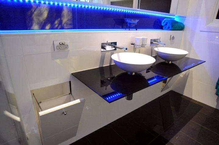 Lighting Design by CD Bathroom Renovations