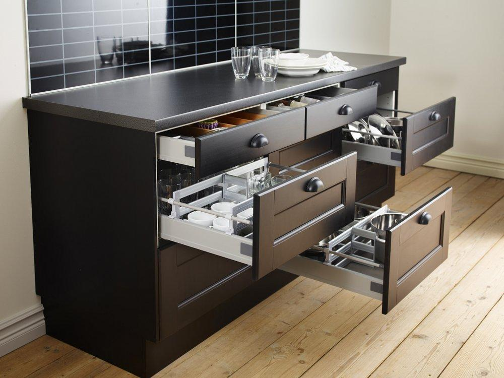 Kitchen cabinets inspiration ikea australia Drawers in kitchen design