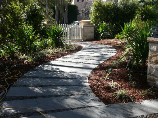 Garden Path Design Ideas by Visual Landscape Designs
