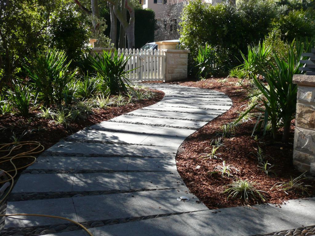 newly paved path