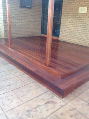 Elevated Decking Ideas by Essential Tiling and Renovations