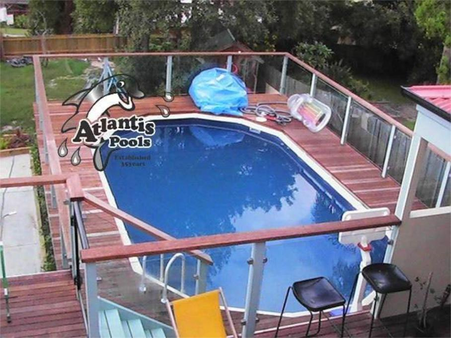 Atlantis pools pool suppliers lansvale above ground for Swimming pool manufacturers